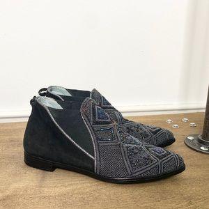 Meher Kakalia x Anthro Embellished Booties